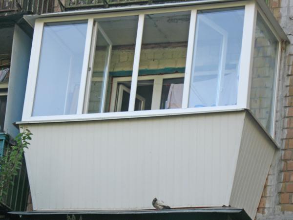 Как обшить балкон хрущевки плстиковой вагонкой. - как выбрат.